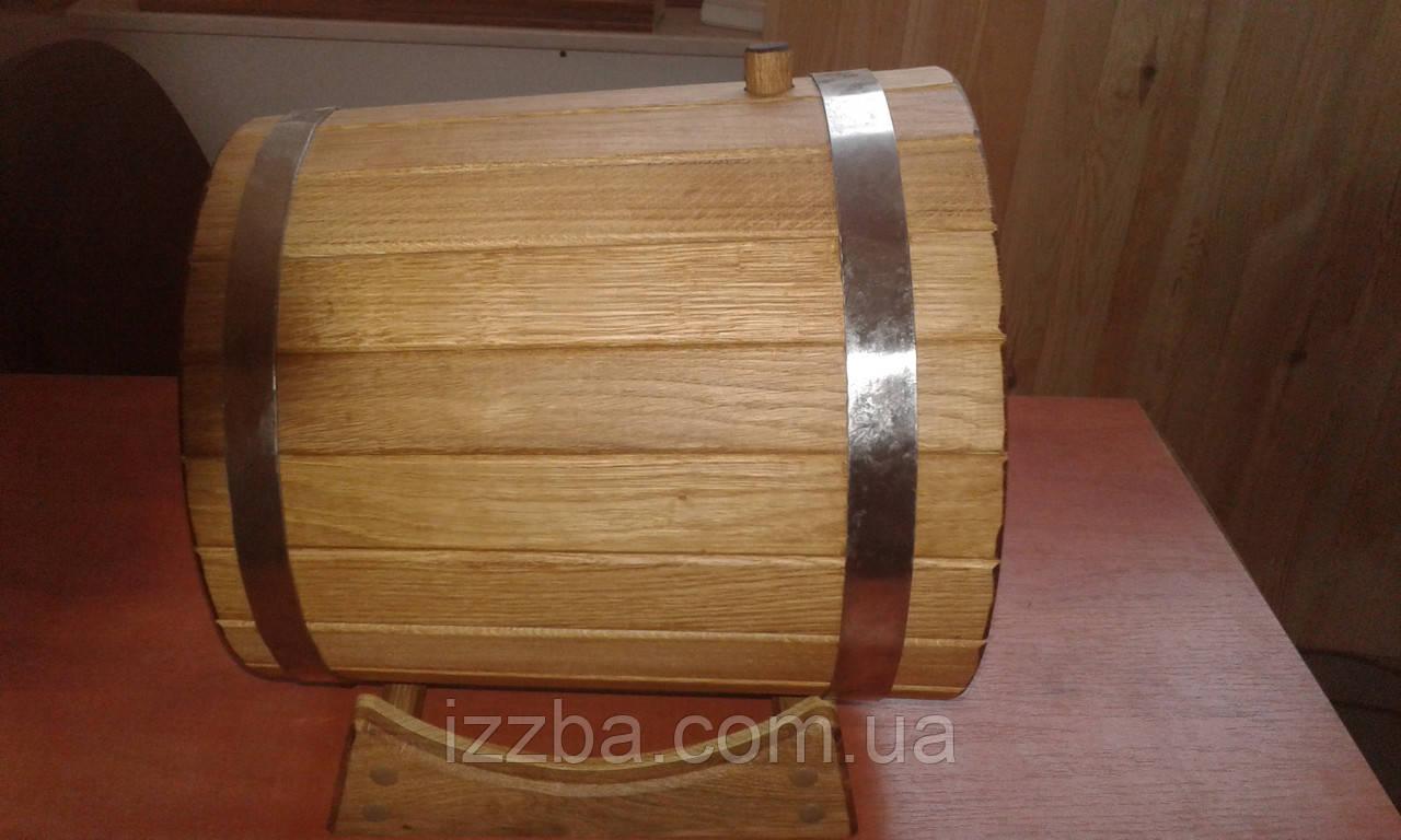 Дубовые бочки для вина на 15 л, фото 1