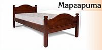 Деревянная односпальная кровать Маргарита 0,9м х2,0м