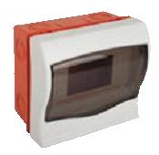 Щит ящик щиток пластиковый 4 модуля автомата распределительный встраиваемый цена купить, фото 1