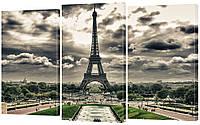 Модульная картина 329 Париж с высоты