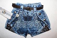 Джинсовые шорты на  девочку 4 года