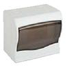 Щит ящик щиток пластиковый 4 модуля автомата распределительный накладной цена купить