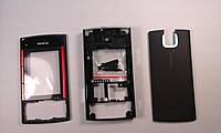 Корпус для Nokia X3 Black- red (Нigh Сopy/Качество A)