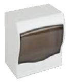 Щит ящик щиток пластиковый 2 модуля автомата распределительный накладной цена купить, фото 1
