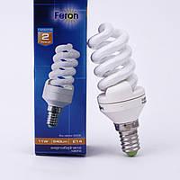 Энергосберегающая лампа Feron ELT19 11W 230V E14 2700K (белый теплый)