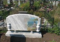 Памятник из мрамора № 2071