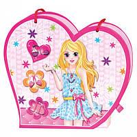 Набор Bino Музыкальная сумочка с зеркалом и дневник на замочке 43011