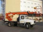 Услуги автогидроподъёмника телескопического 18 метров для проведения высотных работ в Киеве и Киевской области