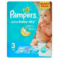 Рampers Active Baby Giant Pack 3 (4-9 кг) 90 шт.