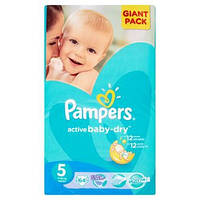 Рampers Active Baby Giant Pack 5 (11-18 кг) 64 шт