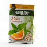 Чай пакетированный Gwarancja Jakosci Herbarium Melisa z pomarancza 20пак (Польша)