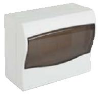 Щит ящик щиток пластиковый 6 модулей автоматов распределительный накладной цена купить, фото 1