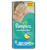 Рampers Active Baby Giant Pack 6 (15 + кг) 56 шт
