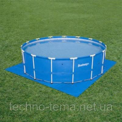 Подстилка под бассейн Bestway 58003 (488х488 см)