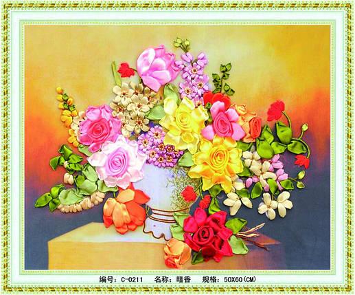 """Набор для вышивания лента """"Аромат цветов"""", фото 2"""