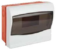 Щит ящик щиток пластиковый 6 модулей автоматов распределительный встраиваемый цена купить, фото 1