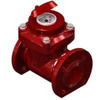 Турбинный счетчик горячей воды WPW-80
