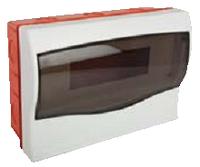 Щит ящик щиток пластиковый 9 модулей автоматов распределительный распредщит встраиваемый цена куп, фото 1