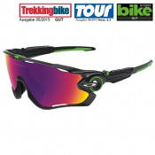 OAKLEY Jawbreaker Cavendish Cycling Eyewear, polished black