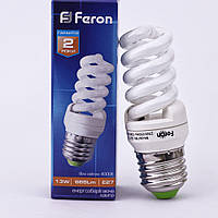 Энергосберегающая лампа Feron ELT19 13W 230V E27 2700K (белый теплый)