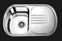 Мойка кухонная Platinum 7749_0,8 mm (сатин)