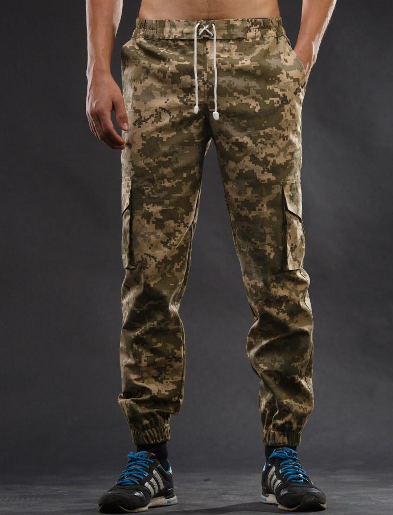 ec9abe740867 Штаны карго Ястреб (пиксель) - ATTIC | одежда, обувь, аксессуары в Днепре