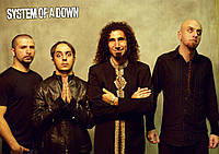 Плакат System of A Down 01