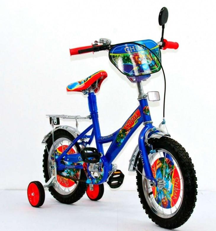 """Детский двухколесный велосипед 14"""" Chima  141405"""