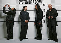 Плакат System of A Down 03
