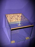 Террариум для улиток ахатин 40*30*30 см.