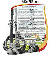История Чернобыльской АЭС. Стенд памяти аварии на ЧАЭС