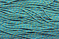 Канат декоративный 1.5мм (100м) голубой+желтый