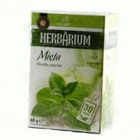 Чай пакетированный Gwarancja Jakosci Herbarium Mieta 30пак (Польша)