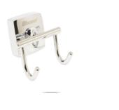 Двойной крючок из хромированного металла Kamille 8825