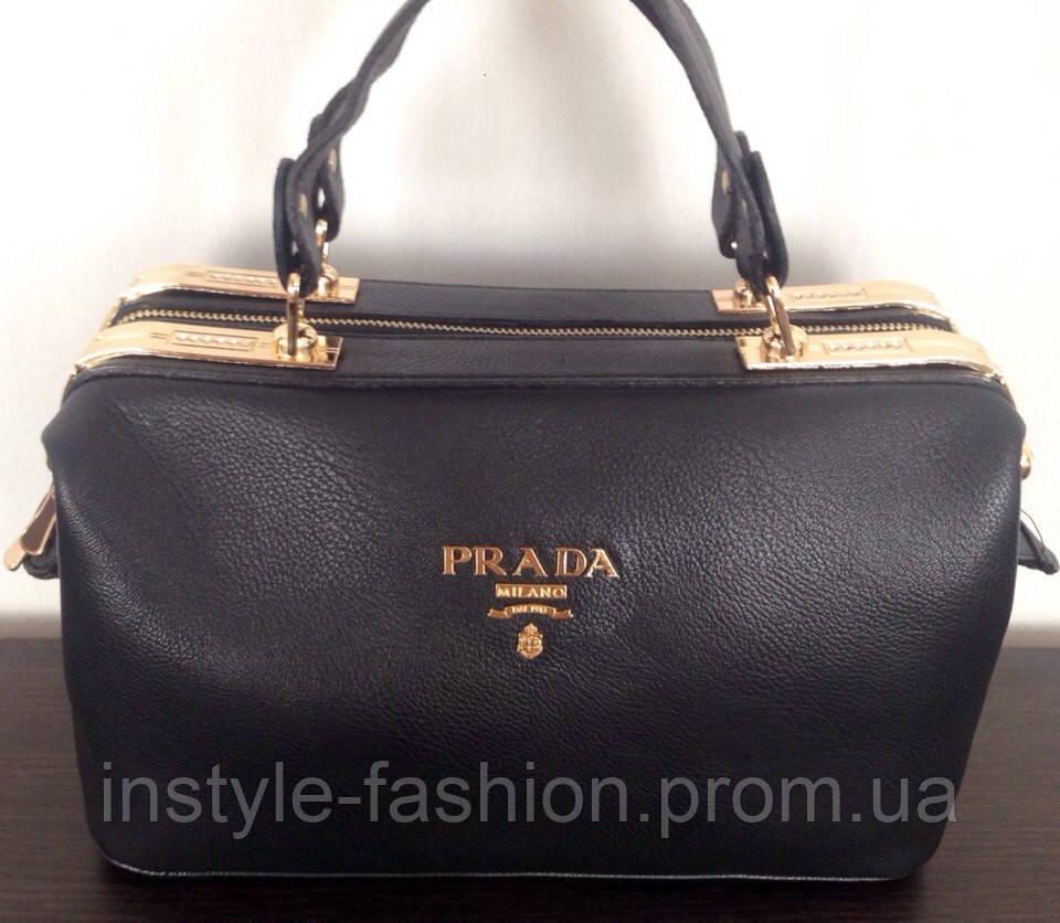 8122bd102855 Сумки-копии брендов, Сумка Prada черная эко- кожа: купить недорого ...