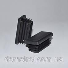 Заглушка пластиковая 40х20 мм