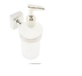 Дозатор для жидкого мыла с держателем Kamille 8812