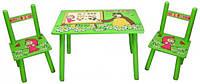 Детский столик и два стульчика Маша и медведь (M 0295)