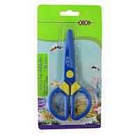 Ножницы детские пластиковые Zibi 130мм синие (ZB.5008-02)