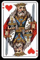"""Игральные карты 54 листа """"Король"""""""