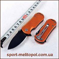 Нож Spyderco Мини. Карманный. Оранжевый