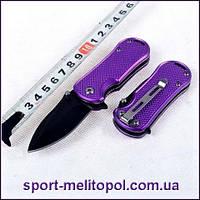Нож Spyderco Мини. Карманный. Фиолетовый