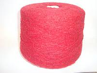 Мохер, темно-красный цвет, Италия, вес 1.220