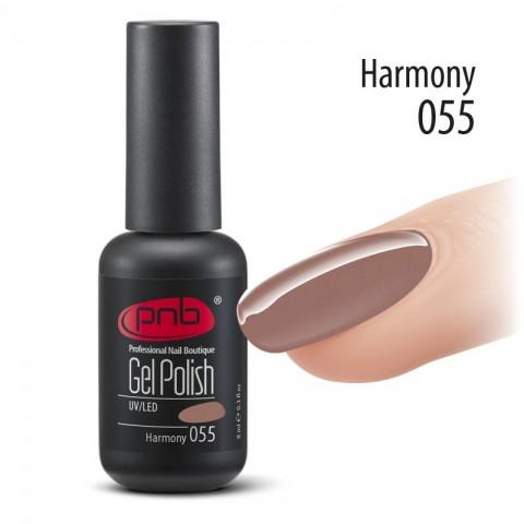 Гель-лак PNB 055 Harmony 8 мл.