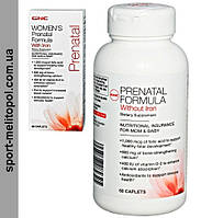 GNC Prenatal Formula Without Iron 60 капс.