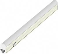Светодиодный светильник Т5 + выключатель + шнур 1м 10W, 60cm, 165-265V, 4000K