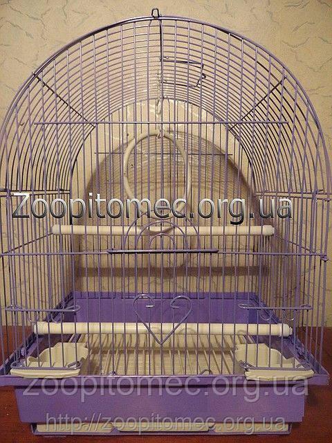 Клетка для попугаев цветная