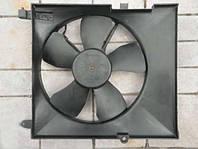 Диффузор радиатора Aveo (без конд.) с мотором, Корея (96536522)
