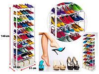 Органайзер для обуви  Amazing shoe rack - качественная, удобная