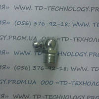 Пресс-масленка по ГОСТ 19853-74, DIN 71412 под 90 градусов